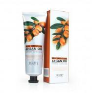 Крем для рук увлажняющий с аргановым маслом JIGOTT Real Moisture Argan Oil Hand Cream: фото