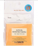 Салфетки матирующие, сменный блок THE SAEM Auto Oil Paper Pact Refills 50шт: фото