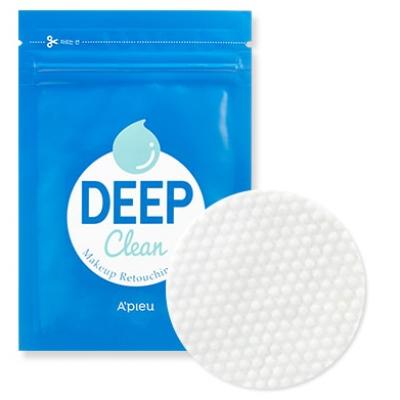 Диски для коррекции макияжа A'PIEU DEEP CLEAN MAKEUP RETOUCHING PAD 19г: фото