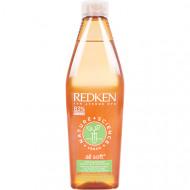 Шампунь Redken Nature Science All Soft смягчающий шампунь для сухих и жестких волос 300 мл: фото