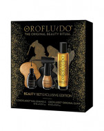 Подарочный набор Orofluido (эликсир 50 мл + лаки для ногтей): фото