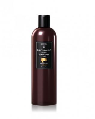 Кондиционер для обесцвеченных и осветлённых волос с Кератином Egomania RicHair Blond 400 мл: фото
