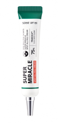 Точечный крем для проблемной кожи с AHA BHA кислотами SOME BY MI AHA.BHA.PHA 14DAYS Super miracle Spot All Kill Cream 50г: фото