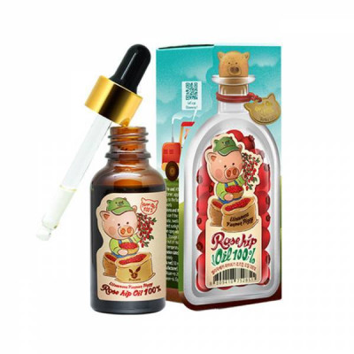 Масло шиповника универсальное Еlizavecca farmer piggy rose hip oil 100% 30мл: фото