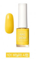 Лак для ногтей THE SAEM Nail wear 101. Vanilla Syrup: фото