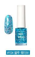 Лак для ногтей THE SAEM Nail wear #104. Blue Wave: фото