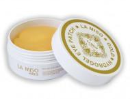 Патчи гидрогелевые для глаз с коллоидным золотом LA MISO Gold Hydrogel Eye Patch 60 шт: фото