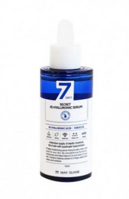 Сыворотка с гиалуроновой кислотой May Island 7Days SECRET 4D HYALURONIC Serum 50мл: фото