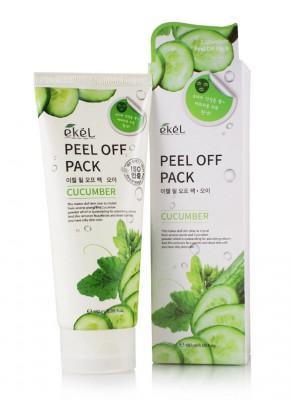 Маска-пленка с экстрактом огурца Ekel Peel Off Pack Cucumber 180 мл: фото