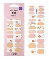 Наклейки для ногтей THE SAEM Nail Wear Art Gel Sticker 10 Peach: фото