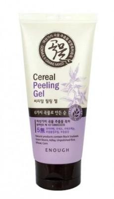 Гель-пилинг для лица с экстрактом злаков Enough 6 Grains mixed cereal peeling gel 150мл: фото