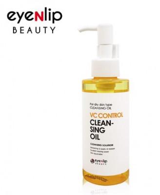 Гидрофильное масло с витаминами для сухой кожи EYENLIP VC Control Cleansing Oil 150мл: фото