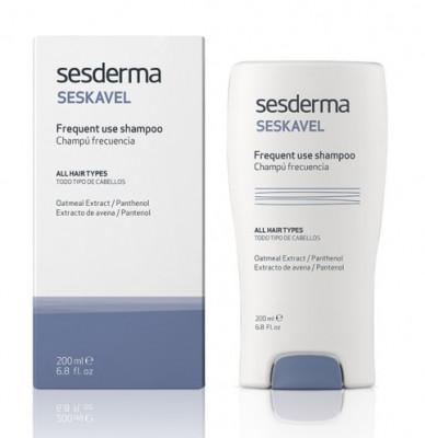 Шампунь для частого применения Sesderma SESKAVEL Everyday Frequent use shampoo 200 мл: фото