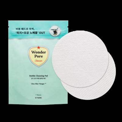 Ватные диски для лица очищающие с пропиткой ETUDE HOUSE Wonder Pore Cleansing Pad 7шт: фото