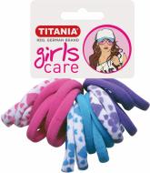 Резинки для волос Titania GIRL 4см цветные 16 шт: фото