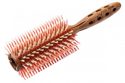 Брашинг для укладки волос деревянный Y.S.PARK SUPER-G 50 мм: фото