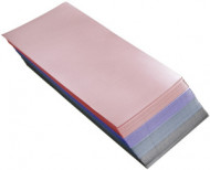 Бумага для мелирования цветная Sibel 20*9см: фото