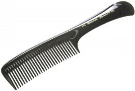 Расчёска каучуковая с ручкой HERCULES 696W 22,7см: фото