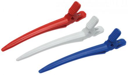 Зажимы для волос пластиковые маленькие EUROSTIL 6шт: фото
