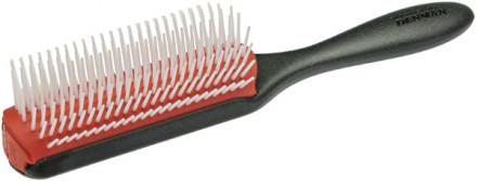 Щетка для волос 9 рядов Denmam Classic Styling большая: фото