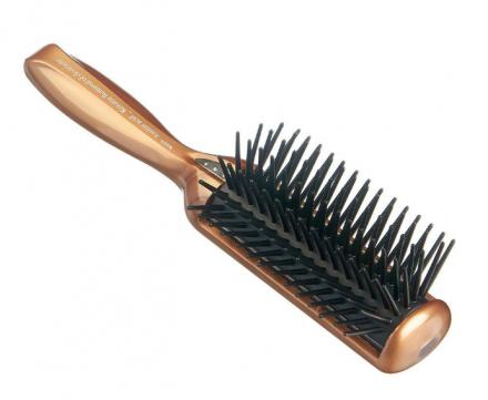 Щетка массажная с кератином и антистатическим эффектом малая Vess Anti-static hair brush Mini: фото