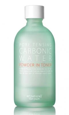 Тонер для кожи с расширенными порами So'Natural Pore tensing carbonic water power in toner 135мл: фото