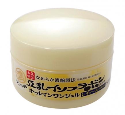 Крем-гель увлажняющий и подтягивающий с ретинолом и изофлавонами сои Sana Wrinkle gel cream 100г: фото