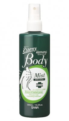 Лосьон для проблемной кожи тела с ароматом свежих трав Sana Body refining lotion 300мл: фото