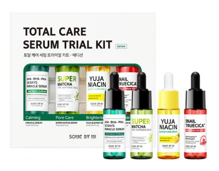 Набор сывороток для лица Some By Mi Total care serum trial kit 14мл*4шт: фото