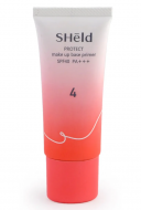 База под макияж выравнивающая Momotani Sheld protect make up base primer SPF40 PA+++ 30г: фото