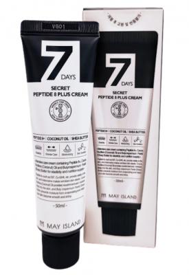 Крем для лица с 8 пептидами May Island 7 Days secret peptide 8 plus cream 50мл: фото