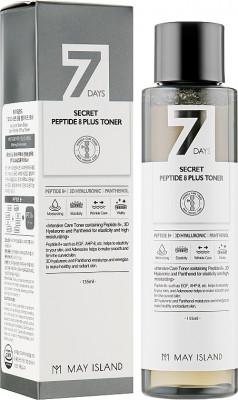 Тонер для лица с 8 пептидами May Island 7 Days secret peptide 8 plus toner 155мл: фото