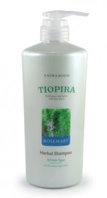 Шампунь растительный для нормальных волос «розмарин» Laura Rosse Herbal shampoo rosemary 510мл: фото