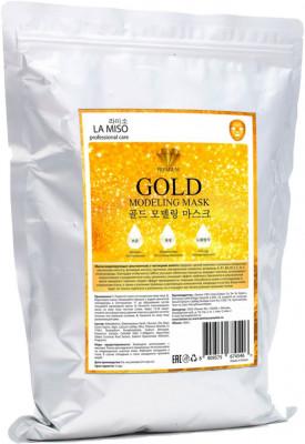 Маска альгинатная с частицами золота La Miso Gold modeling mask 1000г: фото