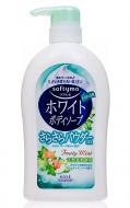 Мыло жидкое с ароматом мяты и фруктов Kose White body powder 600мл: фото