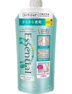Кондиционер для защиты волос при сушке феном KAO Essential smart blow dry 340мл: фото