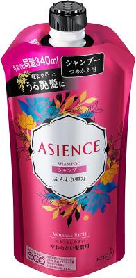 Шампунь для упругости волос KAO Asience soft elasticity type shampoo 340мл: фото
