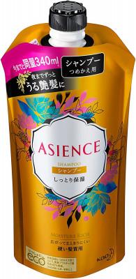 Шампунь для волос увлажняющий KAO Asience moisturizing type shampoo 340мл: фото