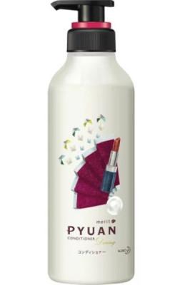 Кондиционер для волос с ароматом розы и граната KAO Merit pyuan daring 425мл: фото