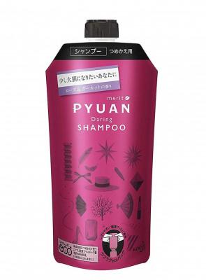 Шампунь для волос с ароматом розы и граната KAO Merit pyuan daring 340мл: фото