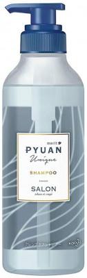 Шампунь для волос с ароматом лилии и мыла KAO Merit pyuan unique 425мл: фото