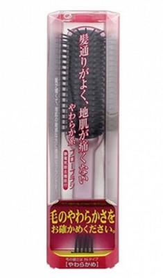 Щетка мягкая для укладки волос IKEMOTO Fairfee styling brush: фото
