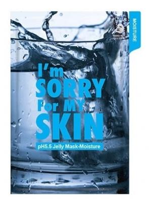 Маска для лица тканевая увлажняющая I'm Sorry For My Skin pH5.5 jelly mask-moisture 33мл: фото