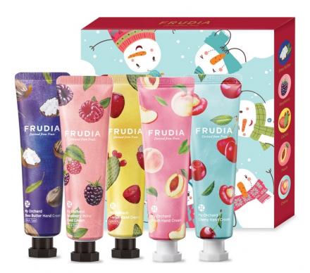 Подарочный набор кремов для рук Frudia Winter play my orchard hand cream gift set: фото