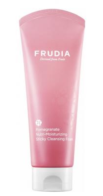 Пенка-суфле питательная с гранатом Frudia Pomegranate nutri-moisturizing sticky cleansing 145мл: фото