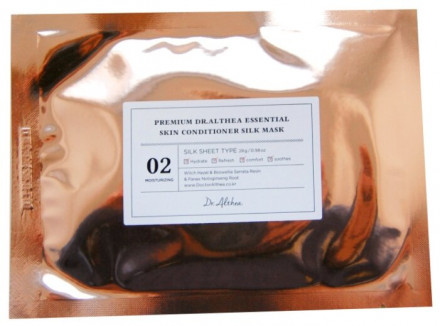 Маска тканевая с гамамелисом Dr.Althea Premium essential skin conditioner silk mask 28г: фото