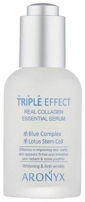 Сыворотка с морским коллагеном Mediflower Aronyx triple effect serum 50мл: фото