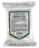 Салфетки для лица очищающие с экстрактом зеленого чая Raraskin Cleansing wipes green tea 30шт: фото