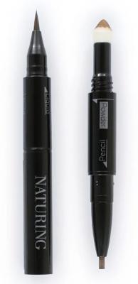 Подводка для глаз водостойкая 3в1 Naturing 3way eye liner тон 02 40г: фото