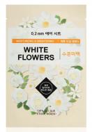 Маска с экстрактом белых цветов ETUDE HOUSE 0.2 THERAPY AIR MASK White Flowers 20мл: фото